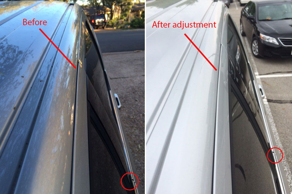 Wind Noise From Driver Side Window Door Page 3 Ford