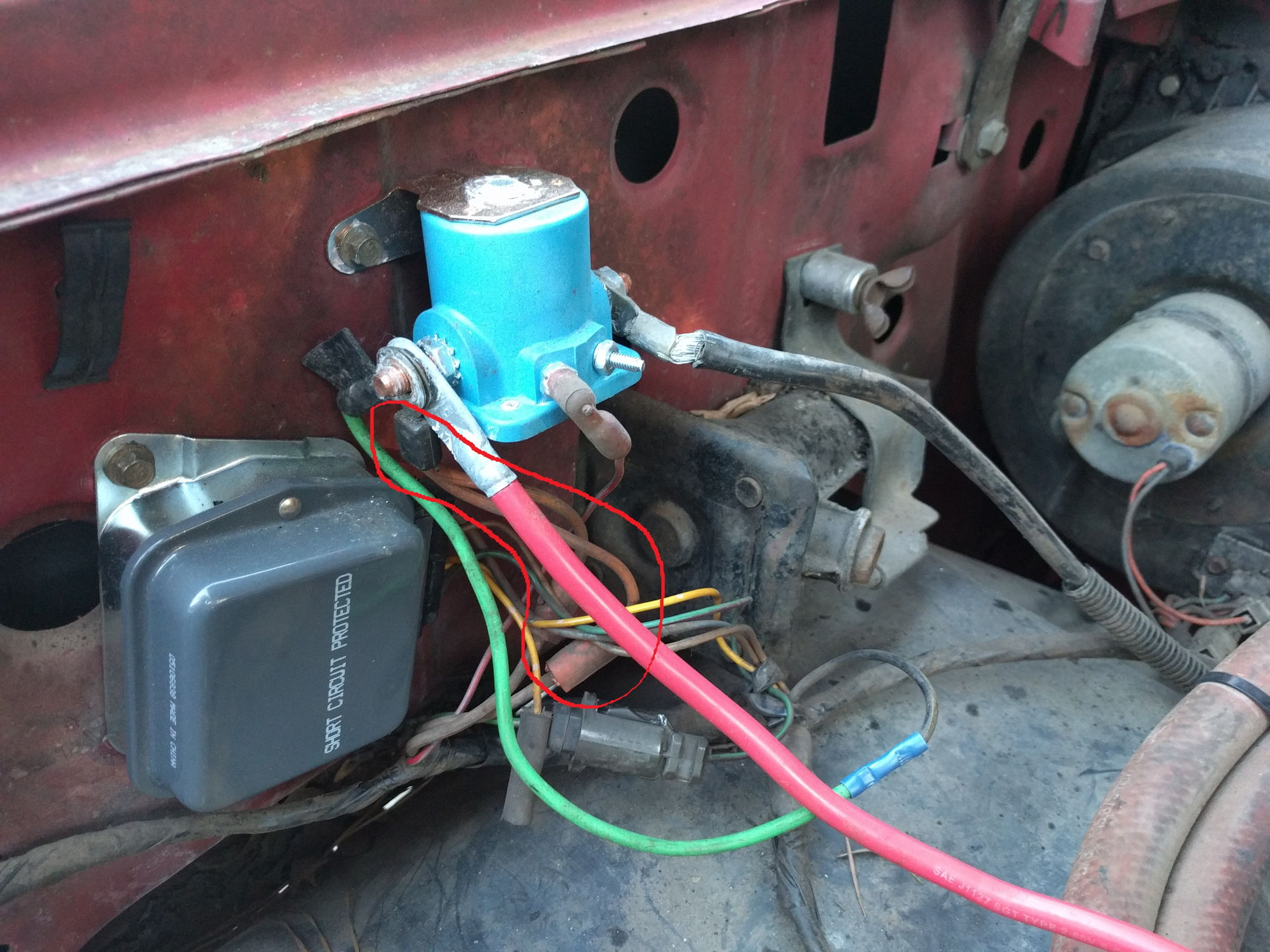 87 Ford Alternator Wiring Books Of Diagram 1987 1981 No Power At All Where Are The Fusible Line F150 Harness