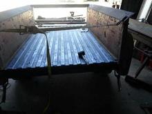bed floor fix