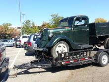 My new 1935 Ford model 51, 1-1/2 ton farm truck