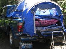 joe's truck camping