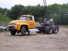 T 26 1956 T800 still running big bad Lincoln 332