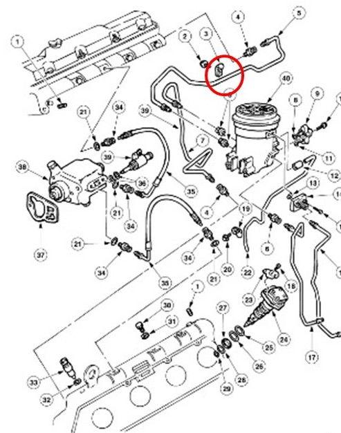 F550 Fuel Filter Location