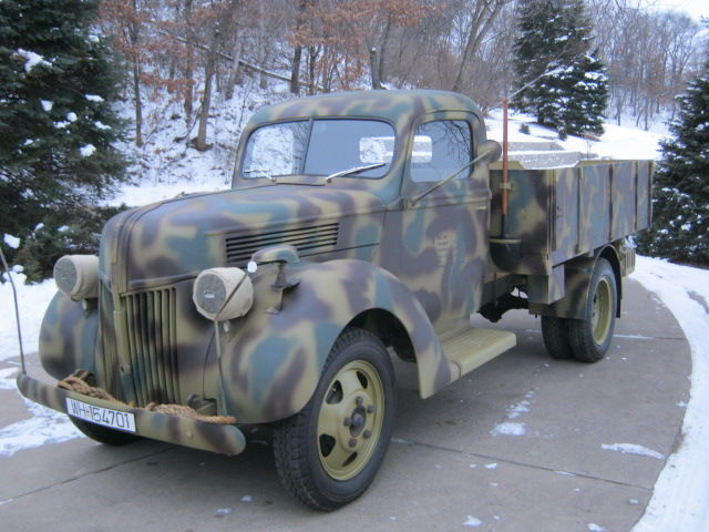 Another Completed Wwii Replica Ford Truck Enthusiasts Forums