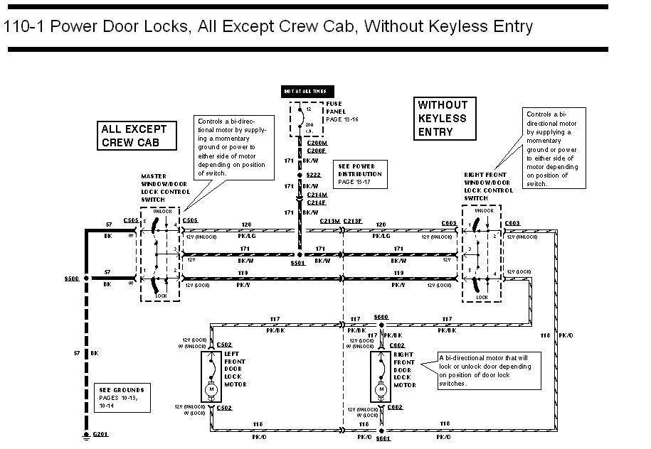 ford factory keyless entry diagram
