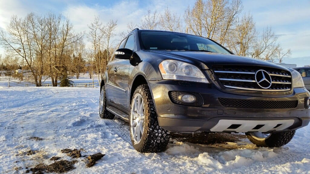 T a ko tires on w164 mercedes benz forum for Mercedes benz ml320 tires