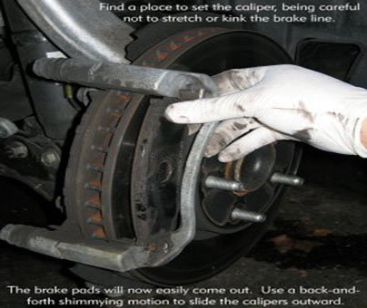 how to change disc brakes