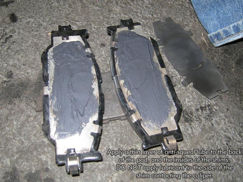 Lexus Rx350 New >> Lexus IS How to Change Disc Brake Pads - Clublexus