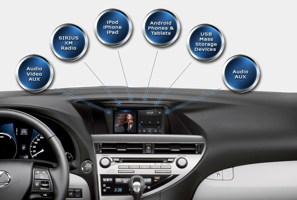 Lexus IS How to Install Vaistech iPhone Android Integration | Clublexus