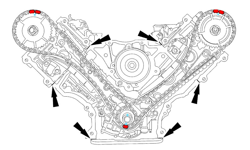 Ford F150 F250 How To Replace Your Timing Chain 361728 on 2000 ford f 150 serpentine belt diagram