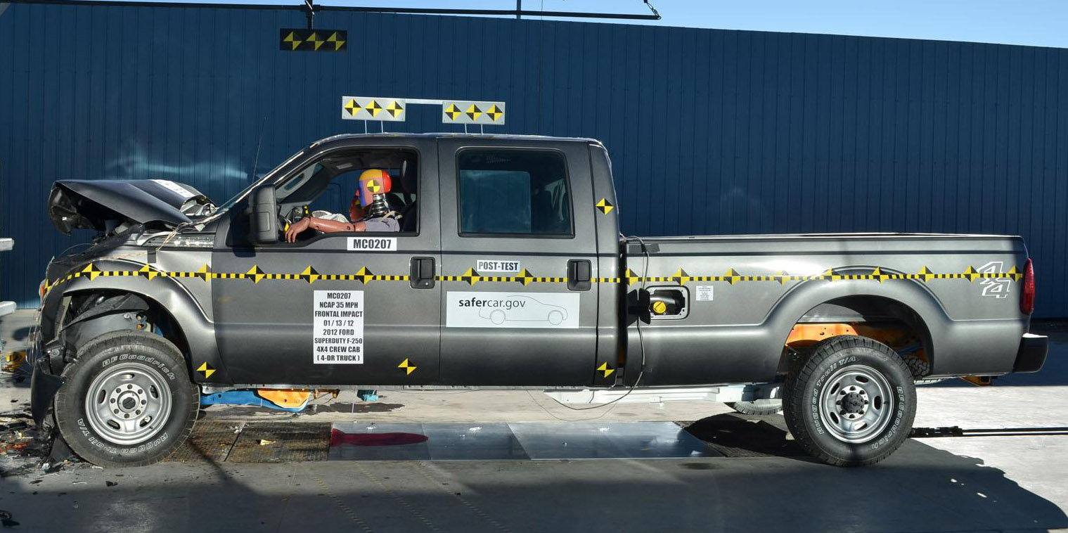 Ford F250 Crash Test and Safety Ratings - Ford-Trucks