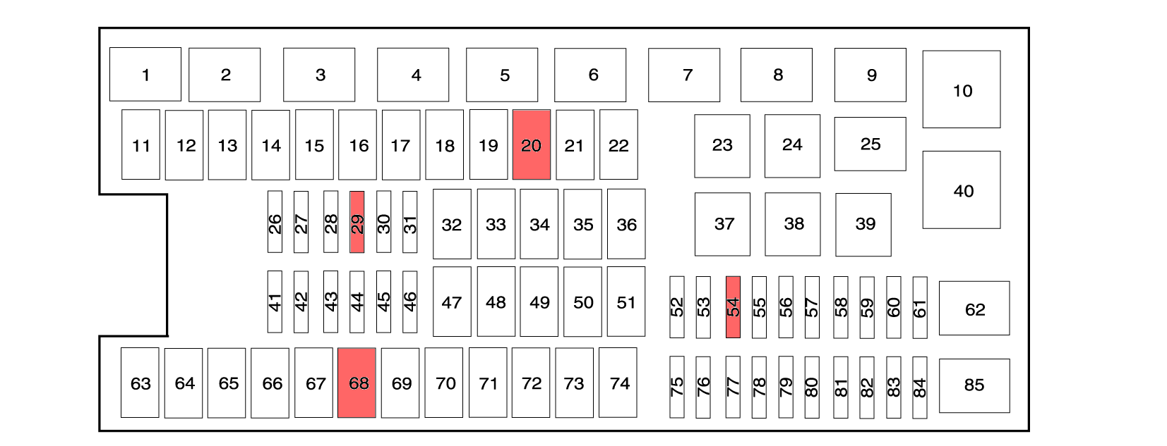 2014F150fusebox4wdhighlight 21169 ford f150 f250 why can't i get into or out of 4wd? ford trucks 1999 ford f250 fuse box diagram at bakdesigns.co