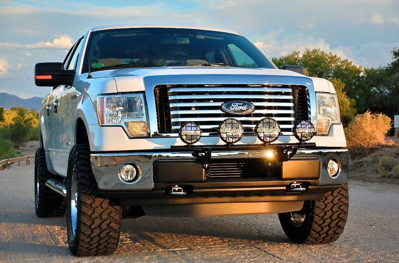 Ford f150 f250 aftermarket light modifications ford trucks off road lights aloadofball Gallery