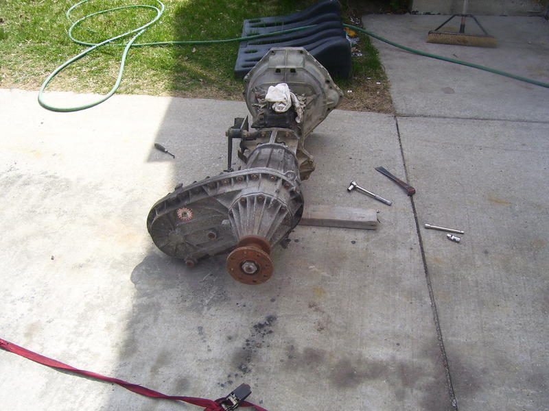 F-150 Transfer Case Removed From Truck