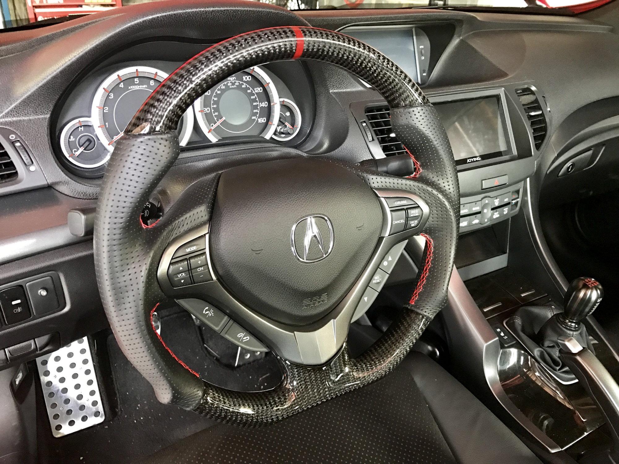 Custom Steering Wheel Acurazine Acura Enthusiast Community