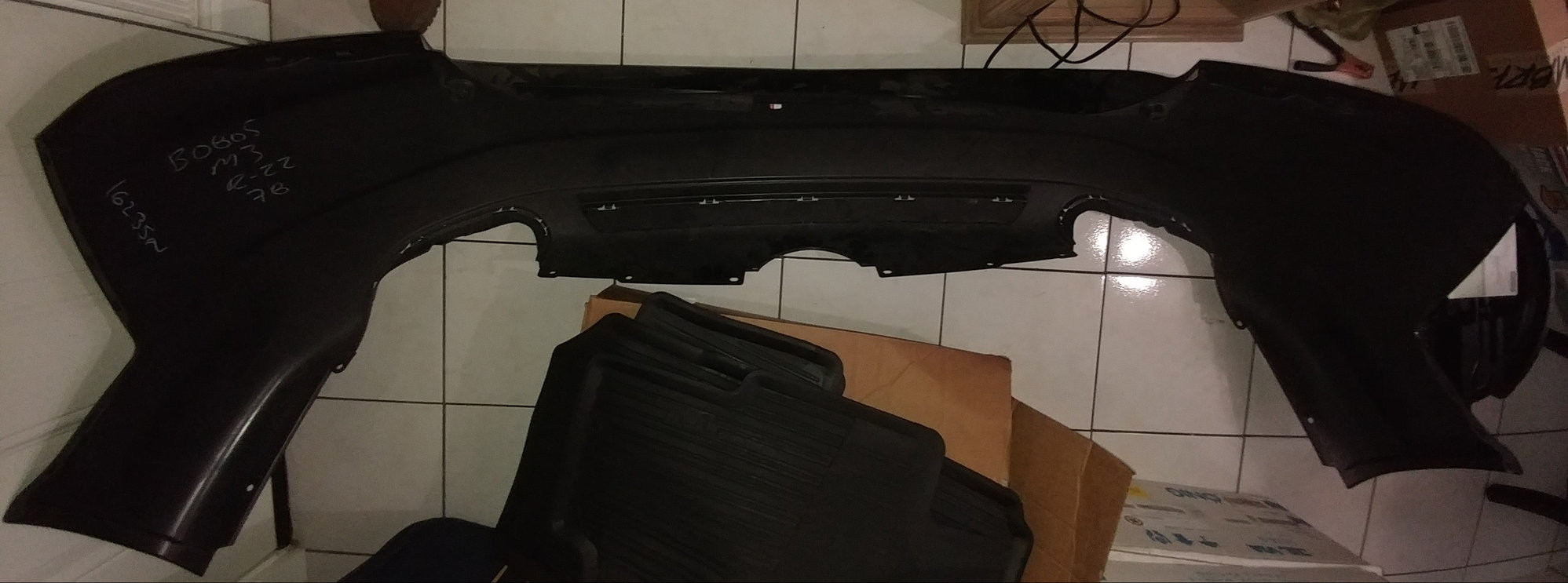 OEM Type S rear bumper ONLY (non-painted)