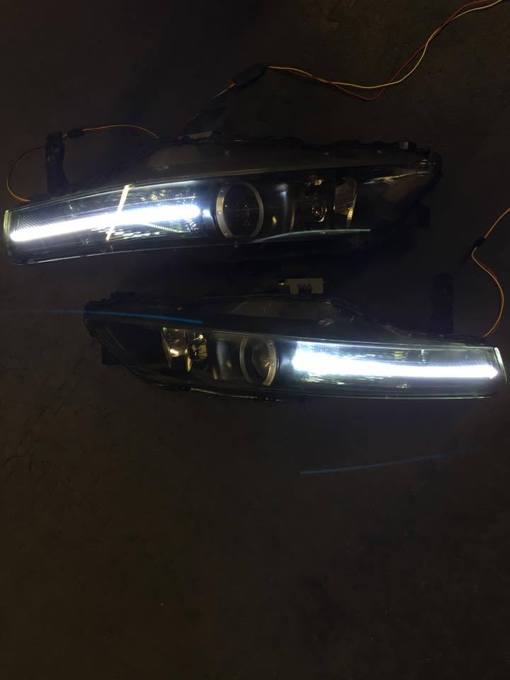 Headlights LED Strip Idea - AcuraZine - Acura Enthusiast