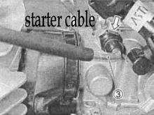 suzuki starter cable