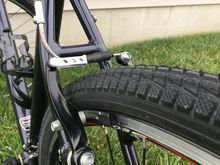 Kenda Komfort Tires:  700c x 40mm
