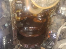 If you do the oil pan go ahead and check your rod slop, cylinder walls, etc while your here.