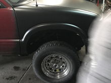 New tires before and after pics