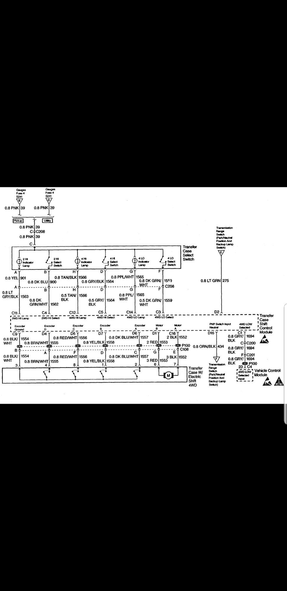 4wd Switch Wiring Diagram - Blazer Forum