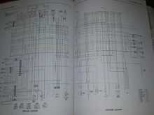 CBR125R Wiring Diagrams (Europe)