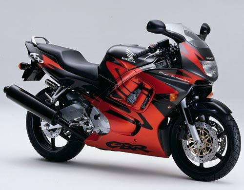 Honda Cbr 600 F3 1998 - YouTube