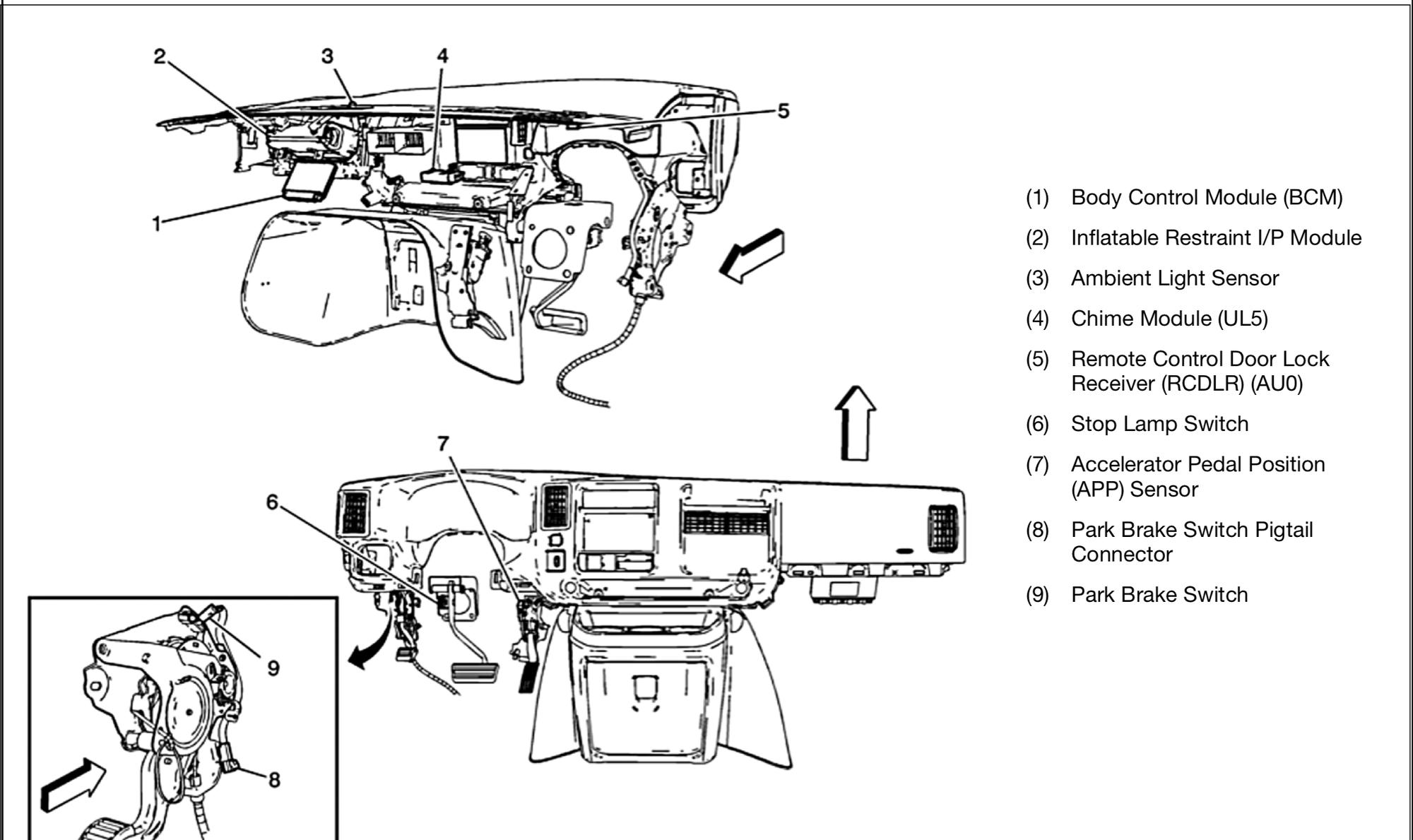 2014 Body Control Module Location