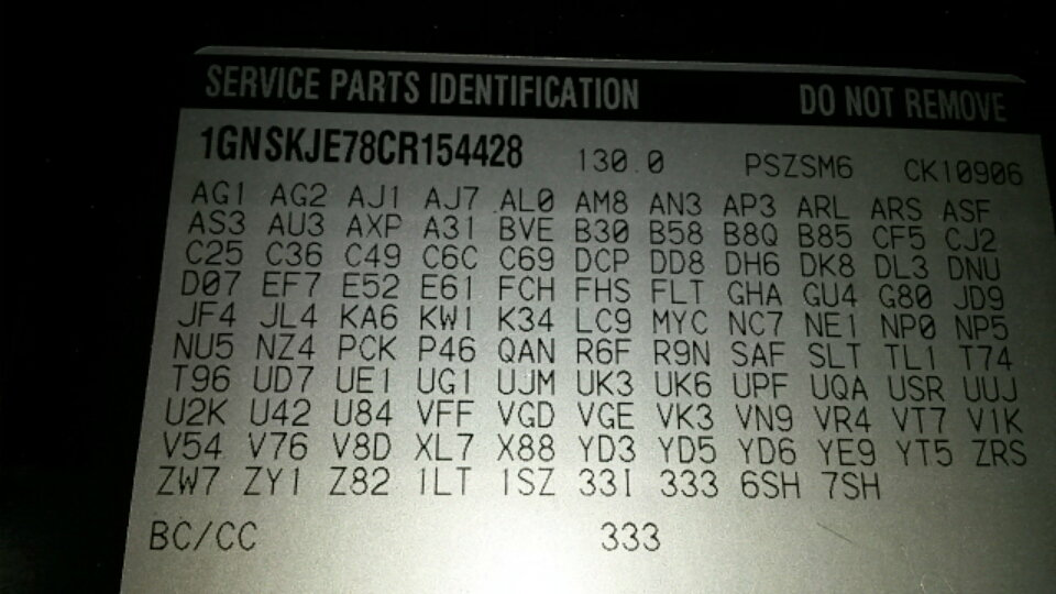 Paint code identifier - Chevrolet Forum - Chevy Enthusiasts