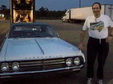 Yours truly standing beside his new toy in the Hammond (LA) WalMart parking lot in May '11.