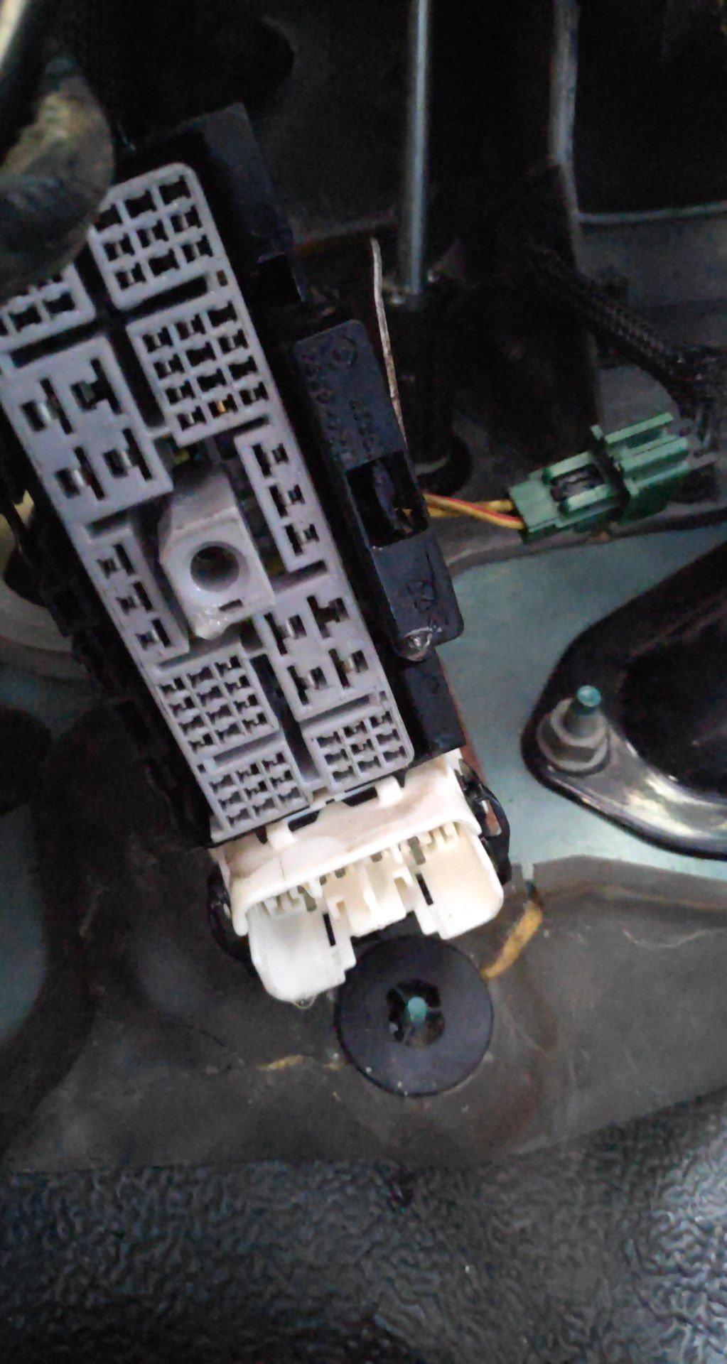 Under dash main harness connection - DodgeForum.comDodge Forum