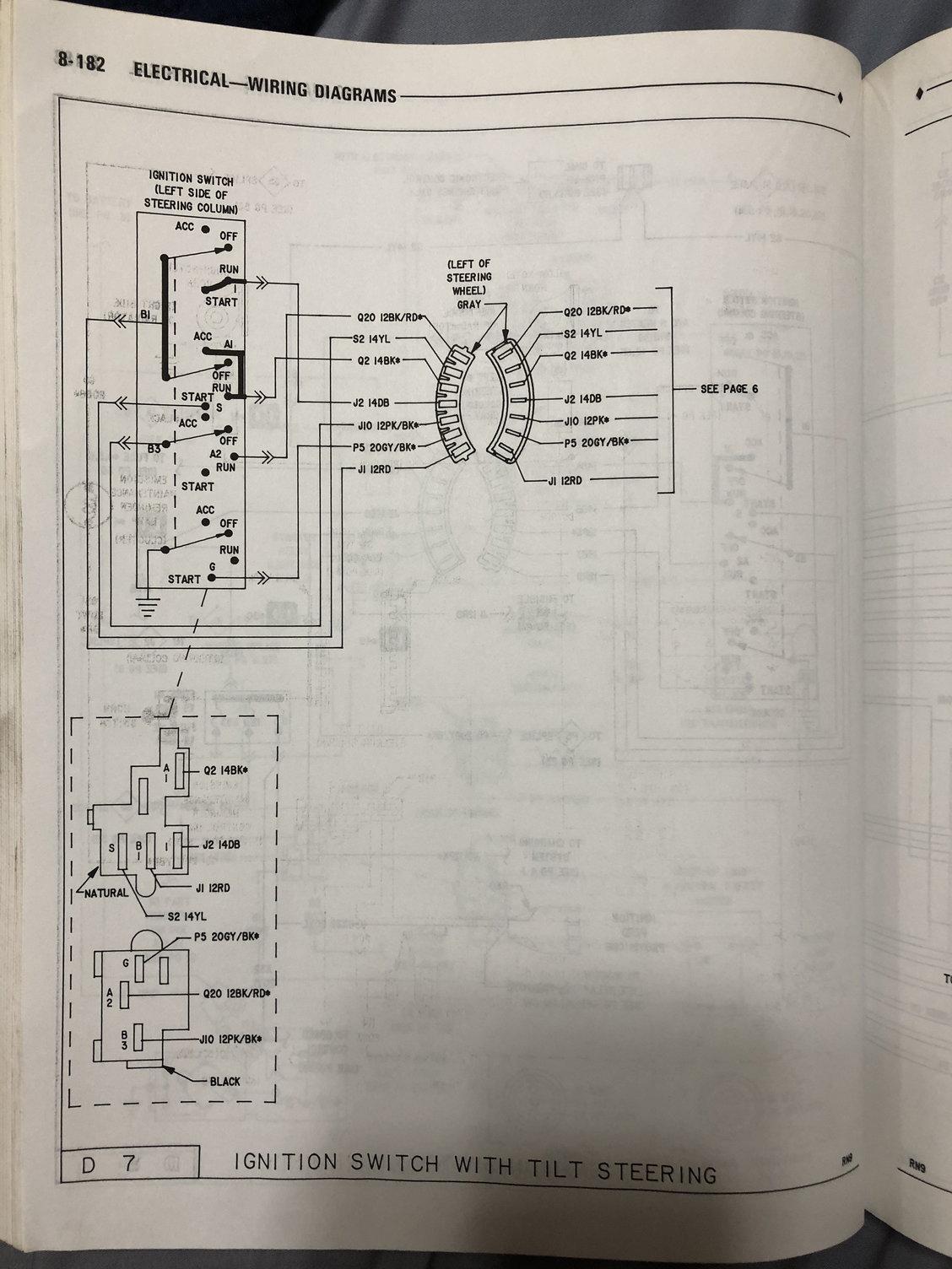 1st Gen Ram Wire Diagrams Dodgeforum Com