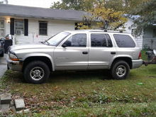 I have a 1999 Dodge Durango. Recently just bought this. I haven't really had much problems out of it but today. I had tried to start it up but it wouldn't start. Dash lights light up and everything. But it's said that if you put the jumper cables on the clamps it will start without the battery... I tried that and still won't start. So any suggestions on what to do???