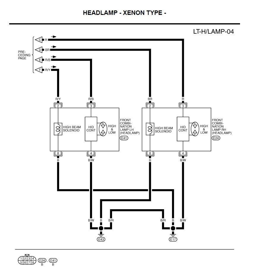 Infiniti G35 Headlight Wiring Diagram   WIRING DIAGRAMS PANEL Driver   Spec D Headlight Wiring Diagram      rewine-roma.it
