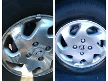 My wheel Restore Before and Afters