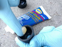 Use silicone grease to keep the boot soft and supple.