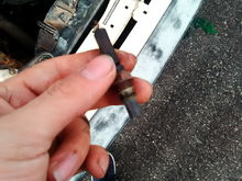 Wire just snapped off and no one could find five minutes to go to autozone, get a crimp connector and fix it. Smh.