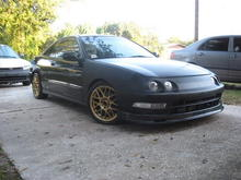 before I painted my rims....