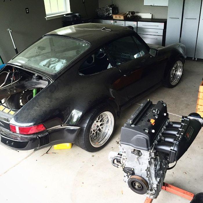 Porsche 911 Engine Swap