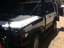 This is my car in Kenya