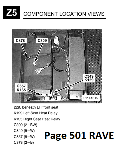 Heated Seat Relay Location Land Rover S. Page 501 Of Rave In The Electrical Troubleshooting Manual Shows Both Replays Under Drivers Seat A '97 '99 Di Lhd Good Luck. Seat. Heated Seat Relay Wiring Diagram At Scoala.co