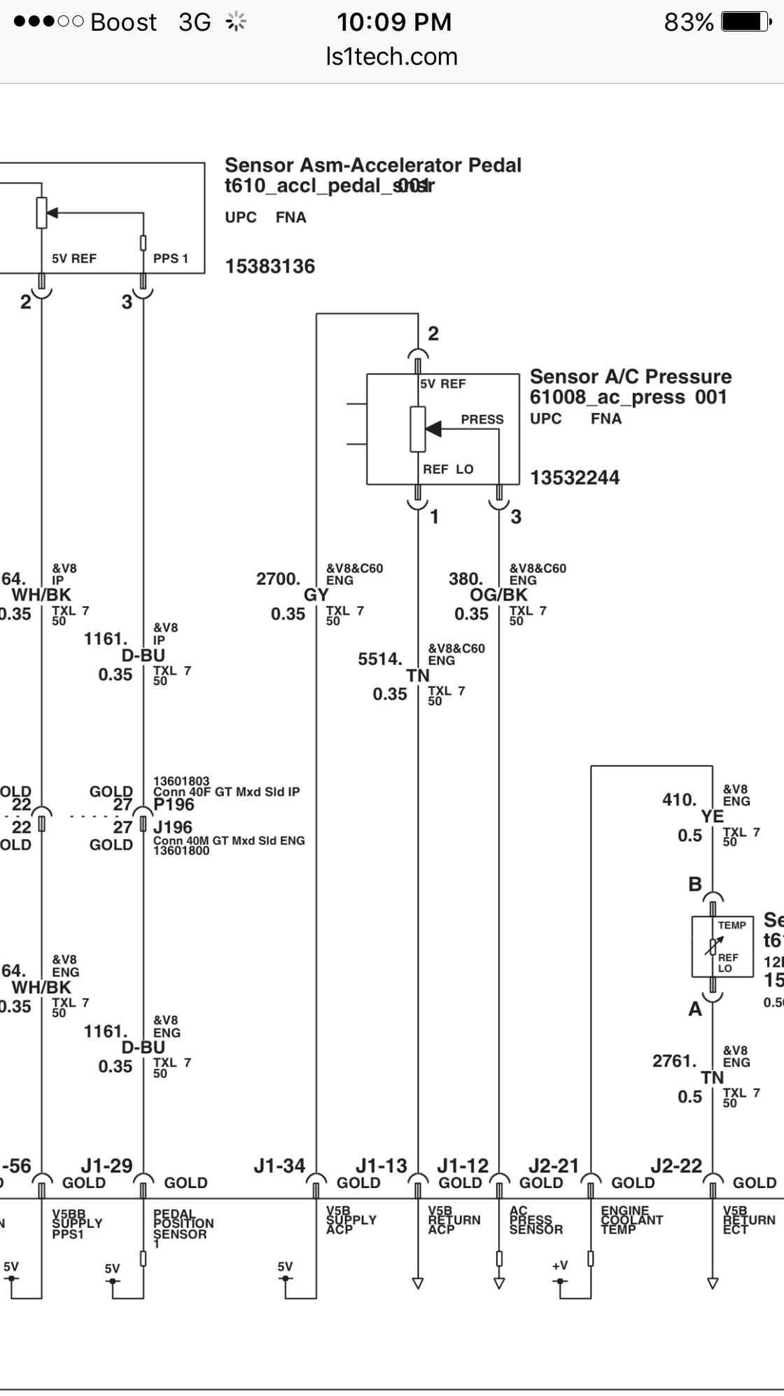 Ac Wiring With Ecm Control Clutch  Fans - Ls1tech