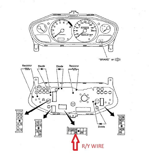 Dakota Digital Speedometer Wiring Diagram Somurich
