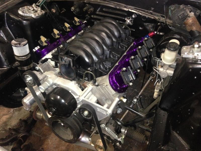Custom T6 Turbo Kit For Foxbody With A  C