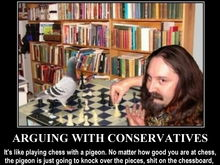 arguing with conservatives