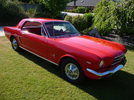 My Red 65 Coupe