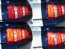 Rear Square Sequential Tail Light Sequence