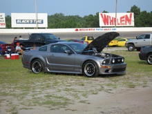 Parked at Myrtle Beach Speed Way at Mustang Week 08