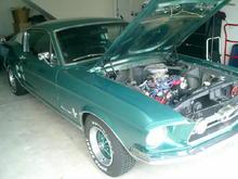 67 Mustang Fastback